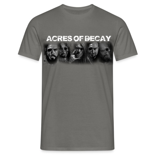 Acres-of-Decay-Band-TEE - Men's T-Shirt
