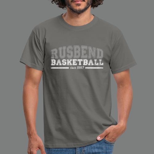 Rusbend Logo G/W - Männer T-Shirt