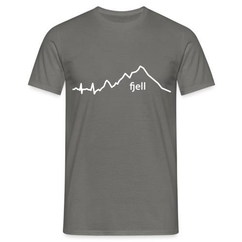 fjell - T-skjorte for menn