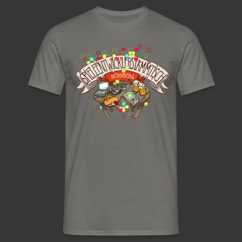 Spieleentwickler-Stammtisch Nürnberg - Männer T-Shirt