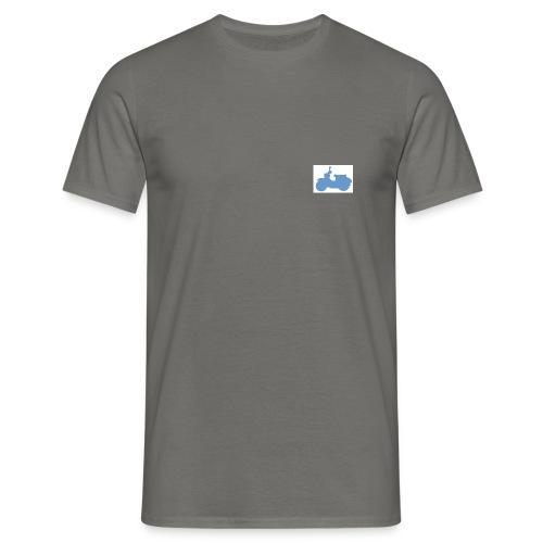 schwalbe blau klein - Männer T-Shirt
