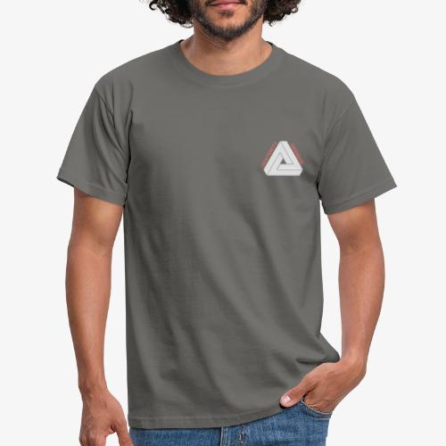 Modern Triangular Dexterity Logo - Men's T-Shirt