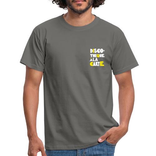 Discotheque ála Carte T-shirt - T-shirt herr