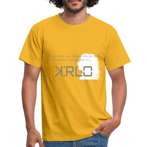 Camisetas Kirlo Sin Ti - Camiseta hombre