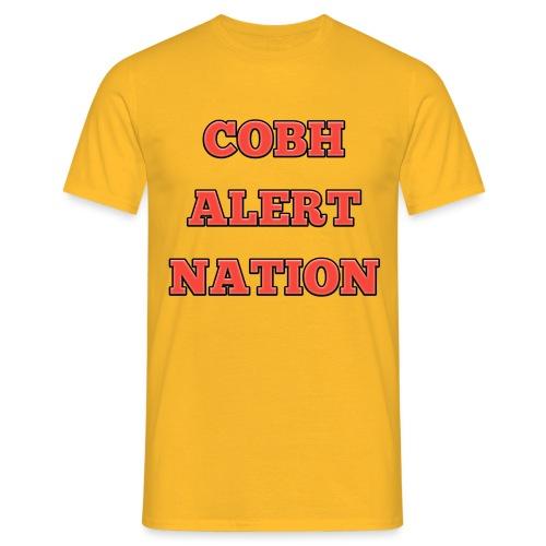 COBH ALERT NATION merchandise - Men's T-Shirt