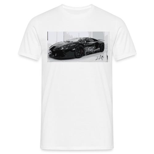 lambo design by blacklyon - Men's T-Shirt