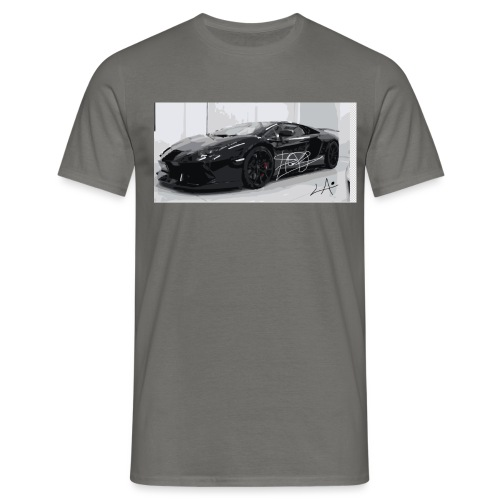 lambo design by blacklyon - Men's T-Shirt