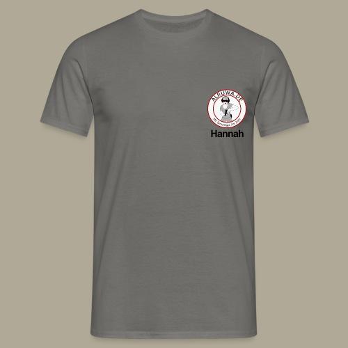 Vorderseite Hannah - Männer T-Shirt