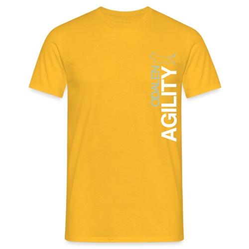 odalen agility blue1 - Men's T-Shirt