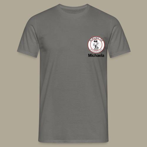 Vorderseite Michaela - Männer T-Shirt