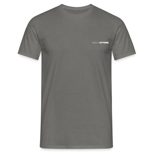 ugo and vittore new logo white png - Men's T-Shirt