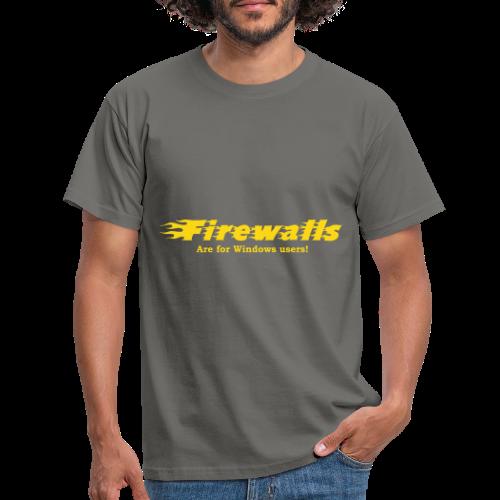 Firewalls - T-shirt herr