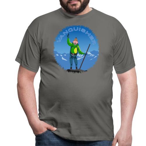 Vanquisher - Kayman der Bezwinger - Bergsteiger - Männer T-Shirt