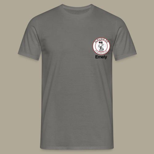 Vorderseite Emely - Männer T-Shirt