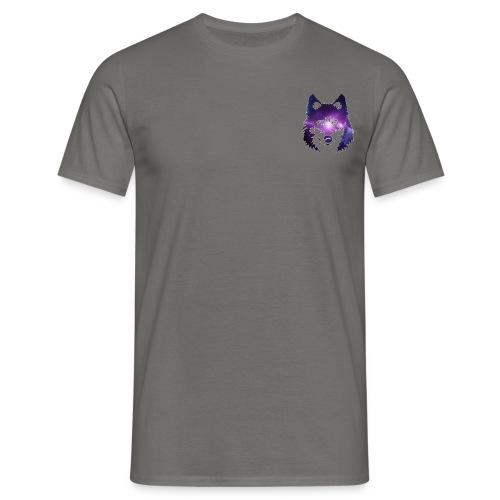 Galaxy wolf - T-shirt Homme