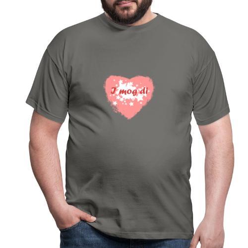 I mog di - Ich mag dich - Männer T-Shirt