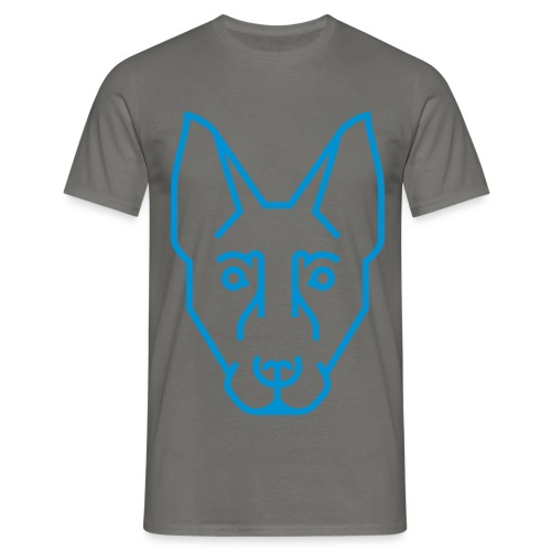 Kynogogik Ganzer Kopf - Männer T-Shirt