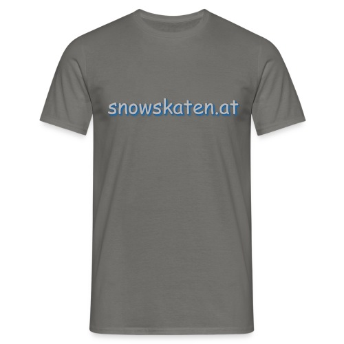 snowskaten.at - Männer T-Shirt