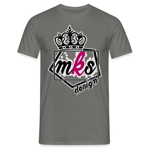 logo merkos grande - Camiseta hombre