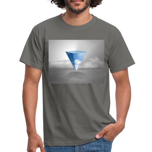 Geometrie Grey - Männer T-Shirt
