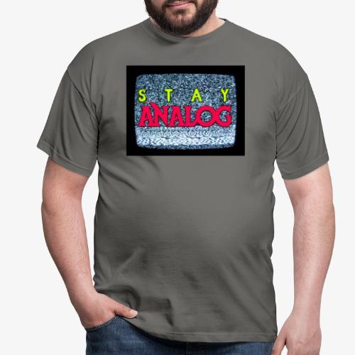 Stay ANALOG FPV - Maglietta da uomo