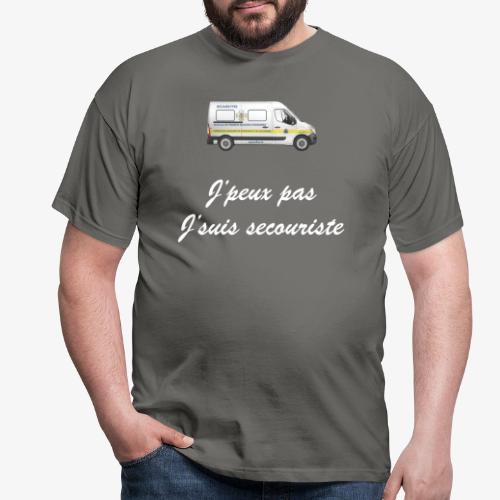 j'peux pas j'suis secouriste - T-shirt Homme