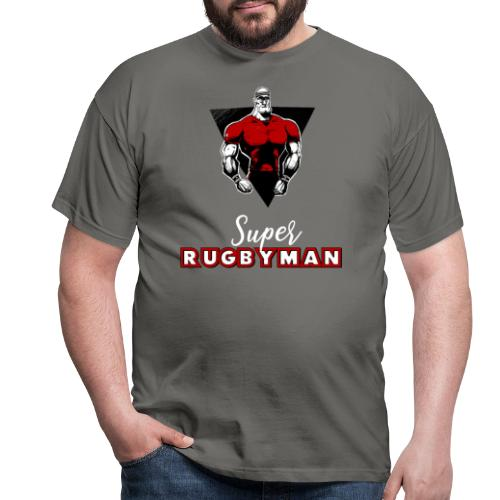 Rugby Humour - Super Rugbyman - T-shirt Homme