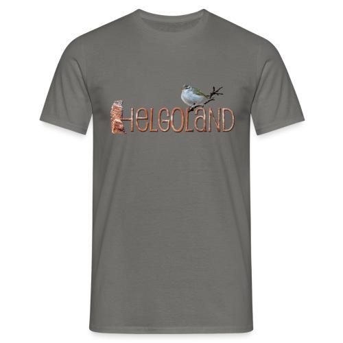 Helgoland Kronenlaubsänger - Männer T-Shirt
