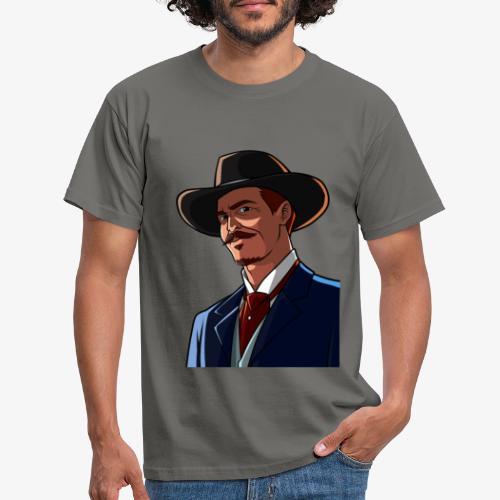 CaptainV Logo - Men's T-Shirt