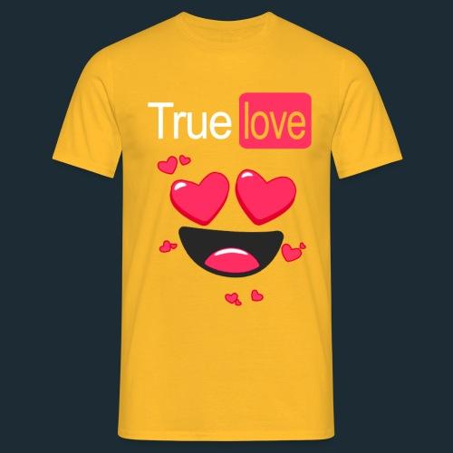 True Love Pink - Men's T-Shirt