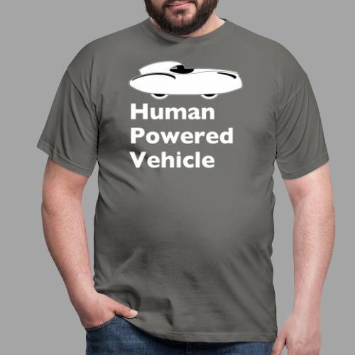 Quattrovelo Human Powered Vehicle white - Miesten t-paita