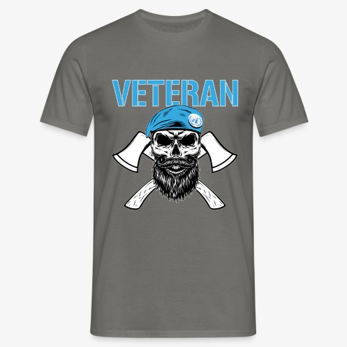 FN-veteran - Korslagda yxor - T-shirt herr