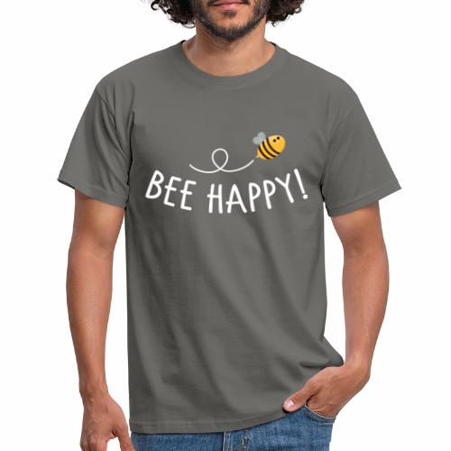 Bee Happy! - Männer T-Shirt