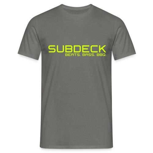 SUBDECK Logo 02 - Männer T-Shirt