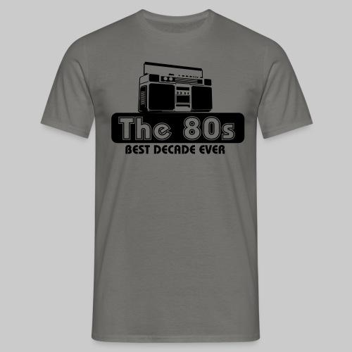 80er Jahre - Männer T-Shirt