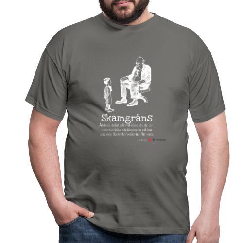 Skamgräns - T-shirt herr