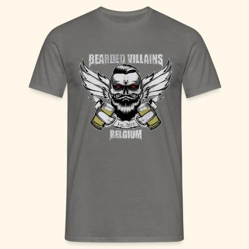 Bearded Villains Belgium - Men's T-Shirt