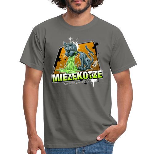 Miezekotze - Männer T-Shirt