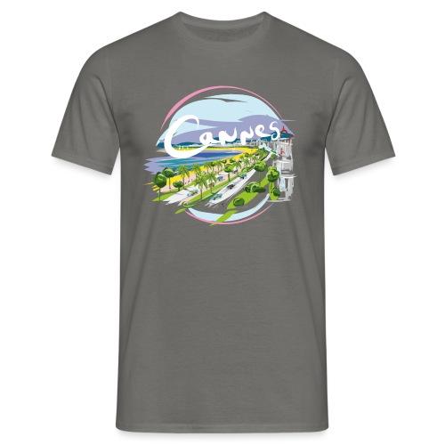 Ville de Cannes by Strob - T-shirt Homme