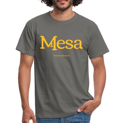 Nuestra Mesa - Camiseta hombre