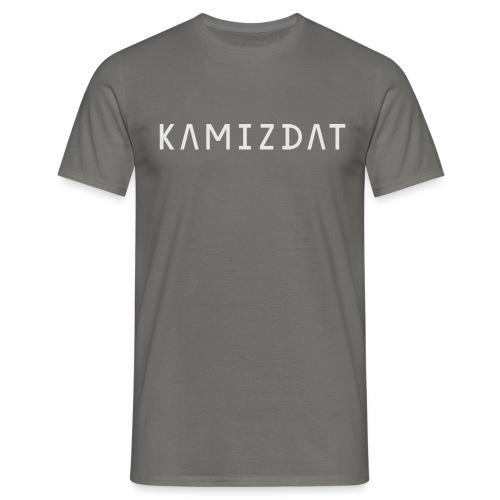 Kamizdat logo bright hires png - Men's T-Shirt