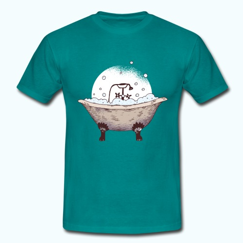 Vintage Badewanne Zeichnung - Men's T-Shirt
