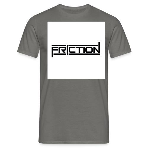 Logo- Black,White - Men's T-Shirt