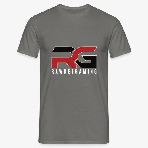 RG Logo White Outline - Men's T-Shirt
