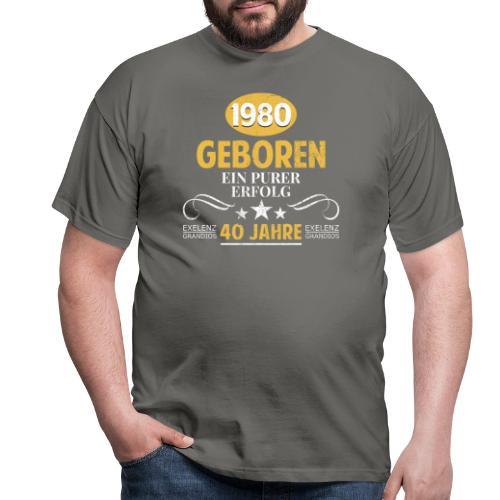 40 Jahre purer Erfolg - Männer T-Shirt