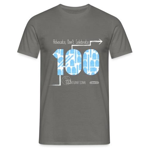 T1International and Miss Diabetes 100 Years - Men's T-Shirt