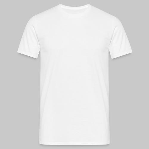 valkoinen - Miesten t-paita