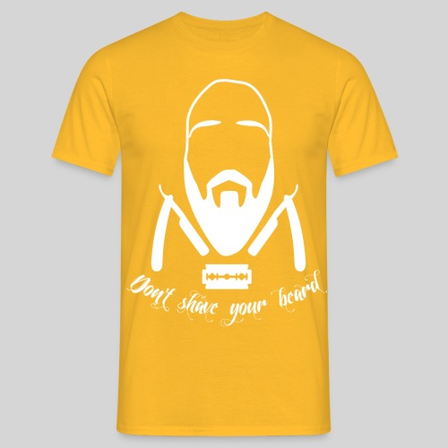 Don't shave your beard - Miesten t-paita