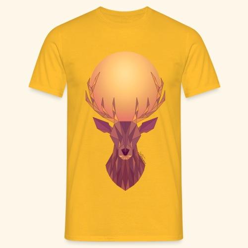 Roi Cerf Solaire - T-shirt Homme