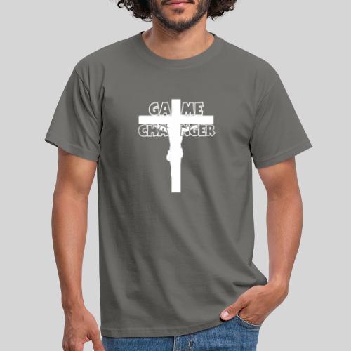 Jesus Mein Game Changer Lebensveränderer Held Gott - Männer T-Shirt